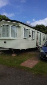 Gold caravan available for rent in Brixham,SOUTH DEVON