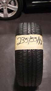 235-55-R17  , 4 GOOD YEAR ALL SEASON TIRES