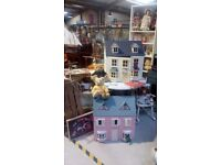 Choice of two dolls Houses reduced