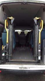 Braun split platform wheel chair inboard lift