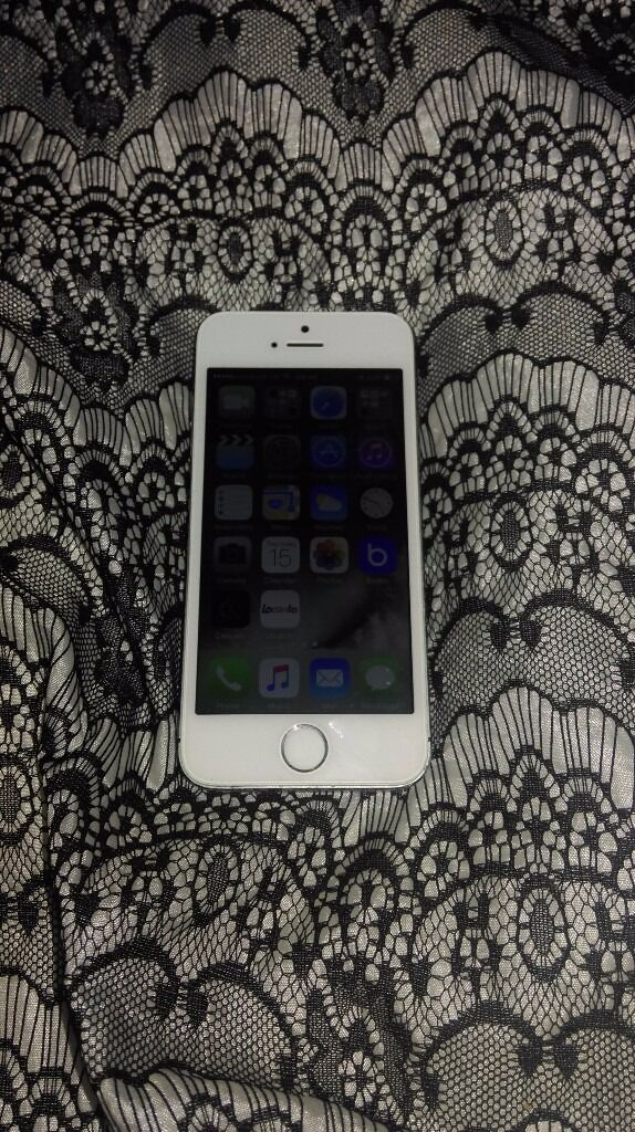 iphone 5s 32gb mobile phone on vodafonein Leicester, LeicestershireGumtree - iPhone 5s 32gb mobile phone on vodafone network fingerprint sensor not working looks like replacement screen as is white and the back is slate grey also screen is raised from the housing... seems to work fine tested calls, internet and app store and...