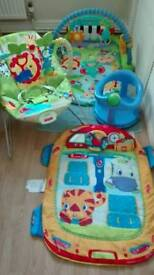 Fisher price baby items