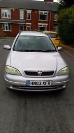 Vauxhall astra van 1.7 DTI 2003 in good condition for age good runner good tyres