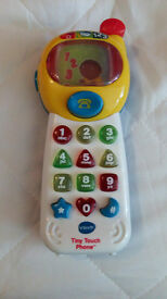 Vtech Tiny Touch Phone Fully Working Very Good Condition