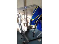 Invacare Reliant 150 electric patient hoist, very good condition, serviced to December 2017