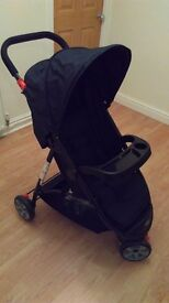 New stroller with raincover !!!!