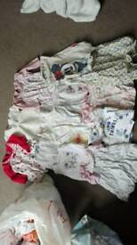Baby girls bundle 0-3 month