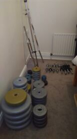 Weight Plates and bars