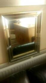Lovely mirror with mirror frame