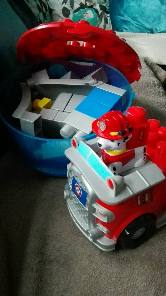 Paw Patrol Tower Toy Toys And Games Mega Blocks