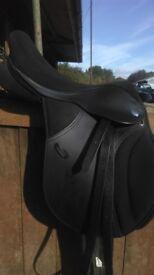Thorogood changeable gullet saddle 16.5 seat