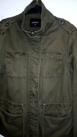 Women's khaki jacket size 12