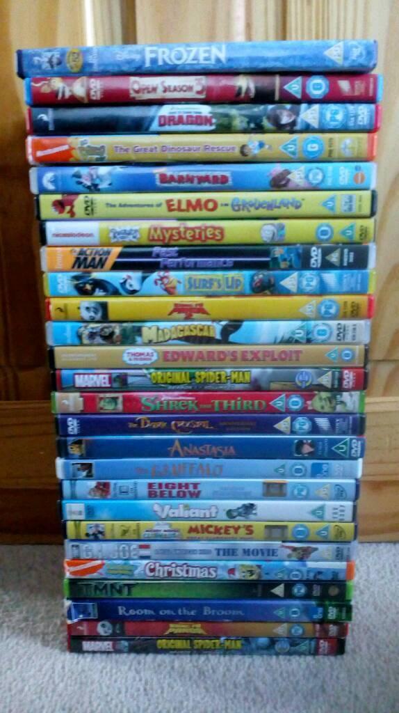 26 kids dvd bundle