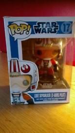 Star wars luke skywalker pop