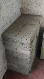 60 Concrete Blocks for sale