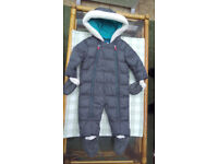 Ted Baker snow suit for 6 to 9 month baby