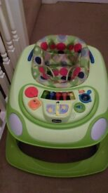 Chicco Baby Walker with tray activity.
