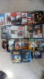 40 DVDs for sale £15