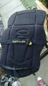 Halfords car seat covers, protection and padding