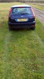 Ford fiesta finesse 1.2