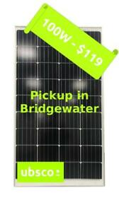 100W MONO-CRYSTAL SOLAR PANEL - $119 - Pickup In Bridgewater NS