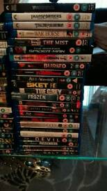 90+ bluray dvd movies