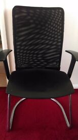 2 x chairs with armrest