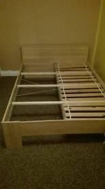 Double bed ikea