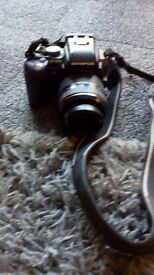 Olympus e500 with large accessories bundle