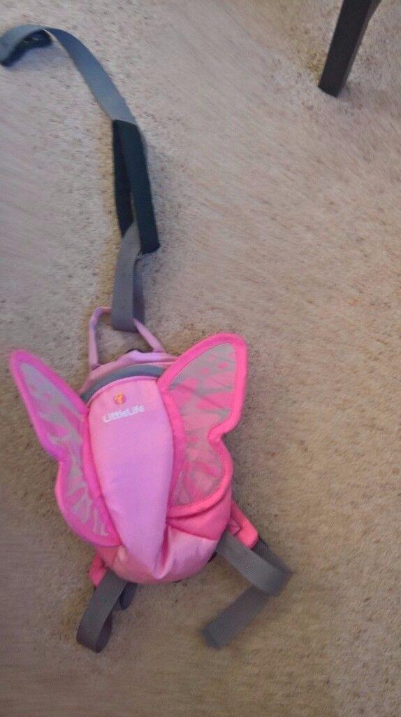 Littlelife rucksack - pink fairy wings