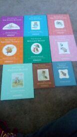 9 Beatrix potter books for sale