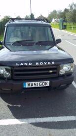 Land Rover Discovery 2, TD5. 7 seats, Full Leather