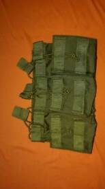 Airsoft m4 mag pouch