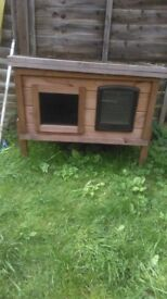Cat House outdoors