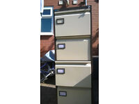Silverline 4 Drawer Cabinet with Key (Good Condition)