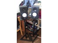 Millenium BS-500 Monitor Stands - £25 (Monitors not included!)