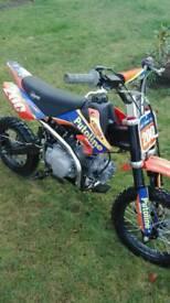 Stomp z120 pit bike