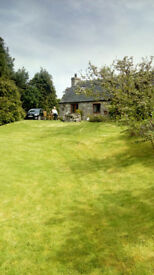 For sale 3 bed house with 2 bed cottage, rural but close to Conon, Dingwall, Inverness.