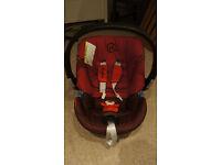 Cybex ATON2 car seat and ISOFIX base
