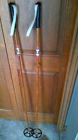 LILJED bamboo ski poles