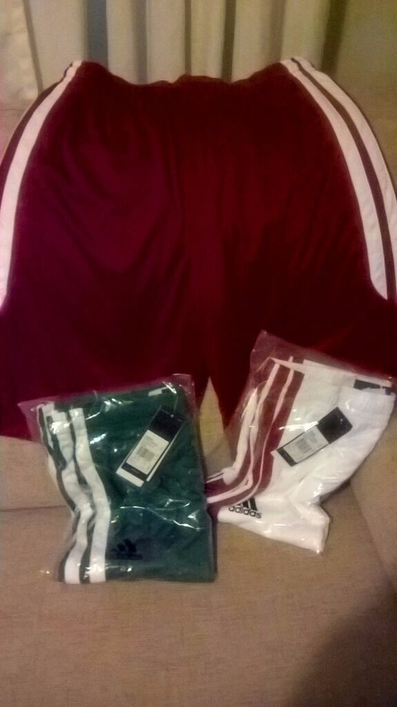 Adidas shorts size mediumin Chester, CheshireGumtree - Three pairs of Adidas shorts red pair worn once other two pairs brand new will sell individually or as a bundle
