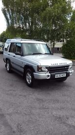 2002 LAND ROVER DISCOVERY TD5 GS AUTO SILVER