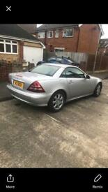 Mercedes Benz slk200 kompressor convertible rare low mileage px welcome ( Audi BMW ford Vauxhall r6)