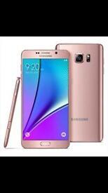 New Samsung Galaxy S7 Edge 32gb pink