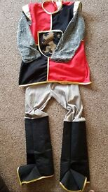 Medieval knights costume aged 5-7