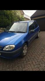 Citroen saxo - forte - limited edition 1.1L