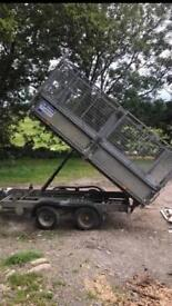 I For Williams 10x5 tipping trailer