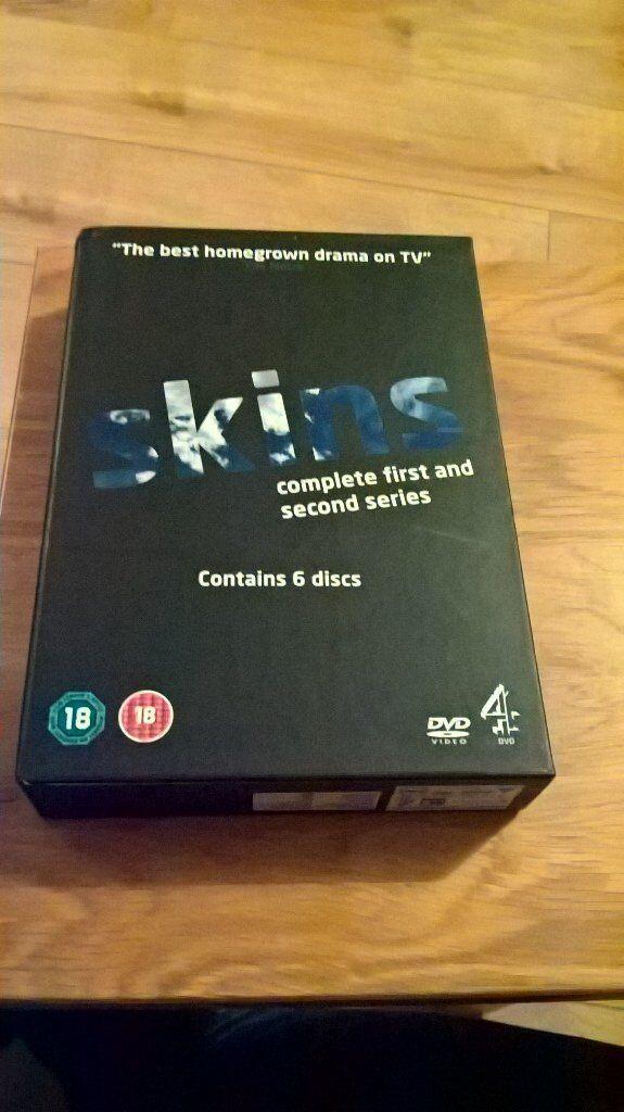 Skins Season 1 & 2 DVD Boxset