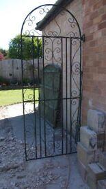 Garden side gate (Wrought iron)