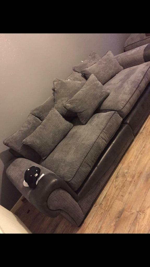 Huge 4 seater sofa